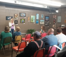 August Artist Reception/Poetry Reading
